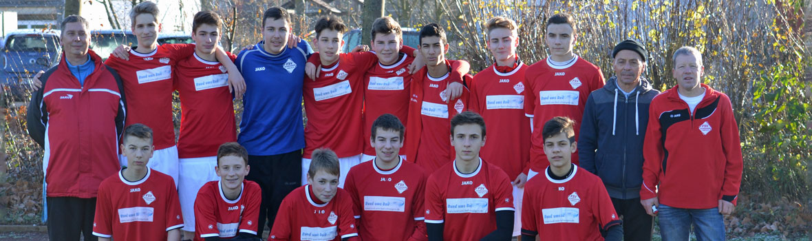 B1-Junioren 2015/2016